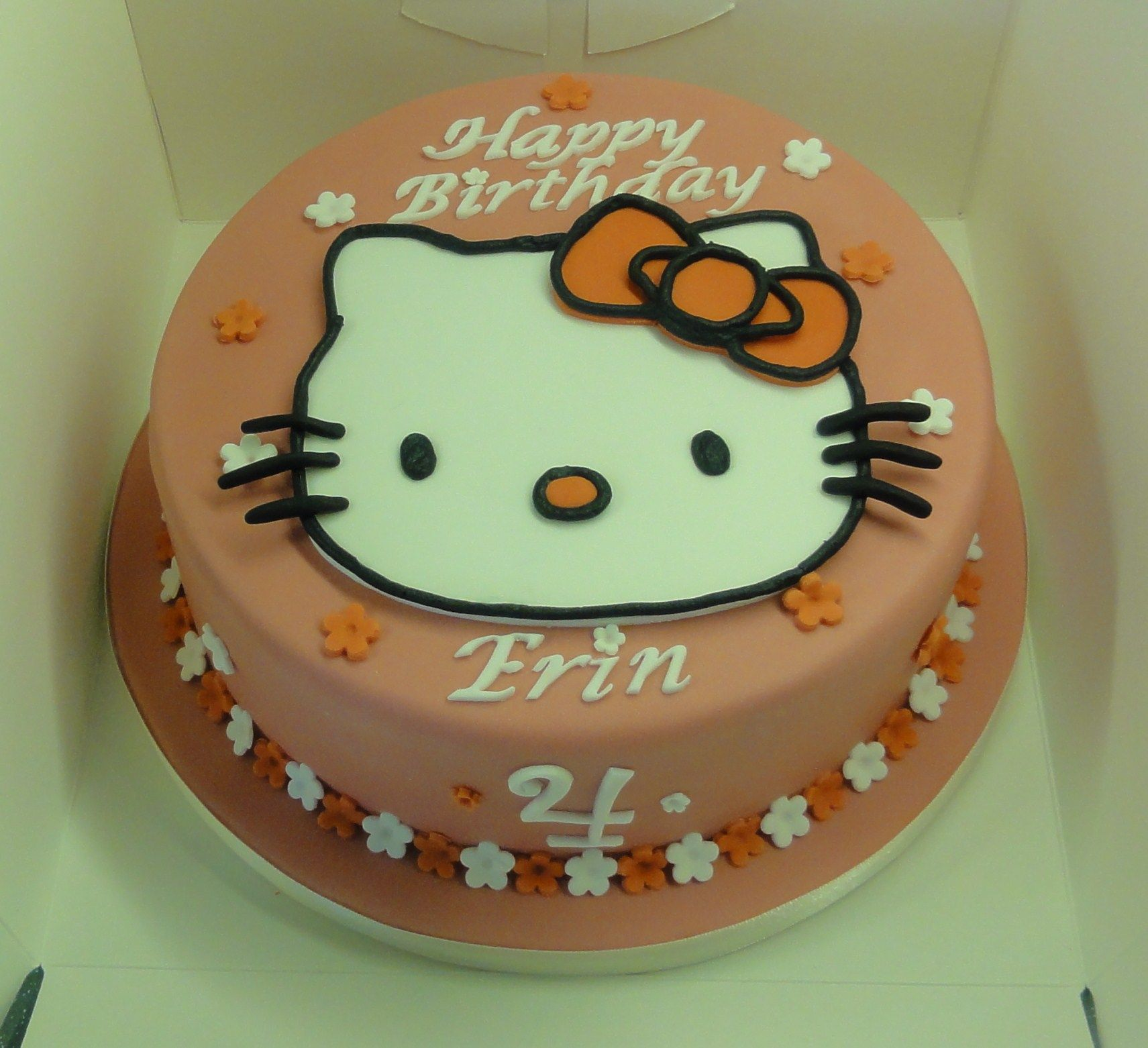 Hello Kitty 4th Birthday Cake Cake 4th Birthday Cakes Birthday Cake Kids
