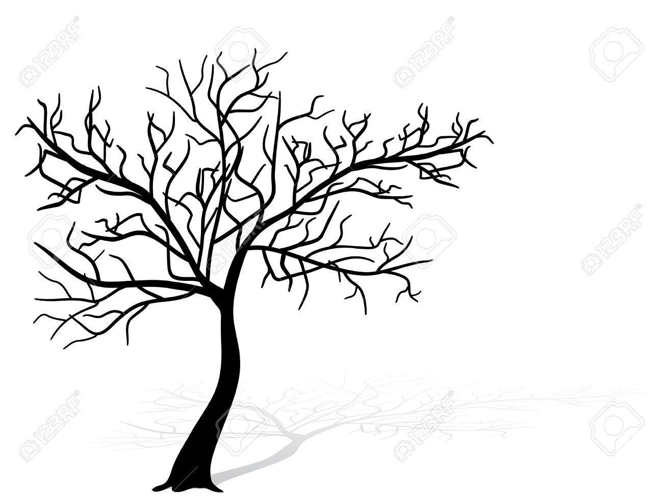 Black Tree Silhouette Tree Silhouette Tree Silhouette Tattoo Blossom Trees