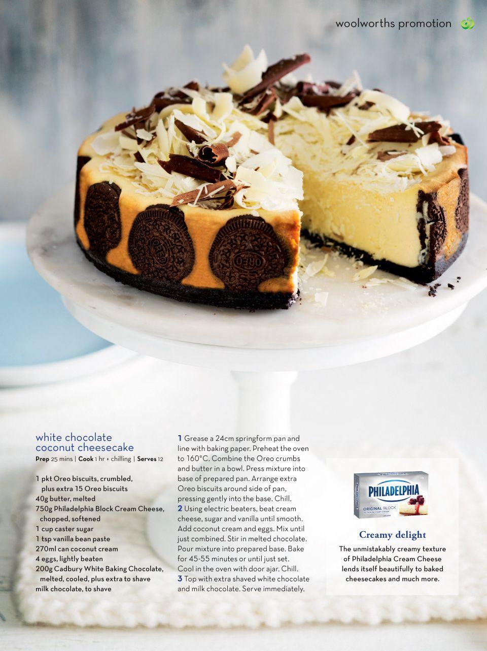 Fresh Magazine New Woolworths Supermarket Food Desserts