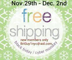 I Am Offering A Black Friday Cyber Monday Deal Take Advantage Of Free Shipping Nov 29 Dec 2nd Bri Cyber Monday Black Friday Cyber Monday Black Friday