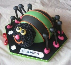 Fine Spider Birthday Cake Decorating Ideas For Beginners Spider Cake Funny Birthday Cards Online Inifofree Goldxyz