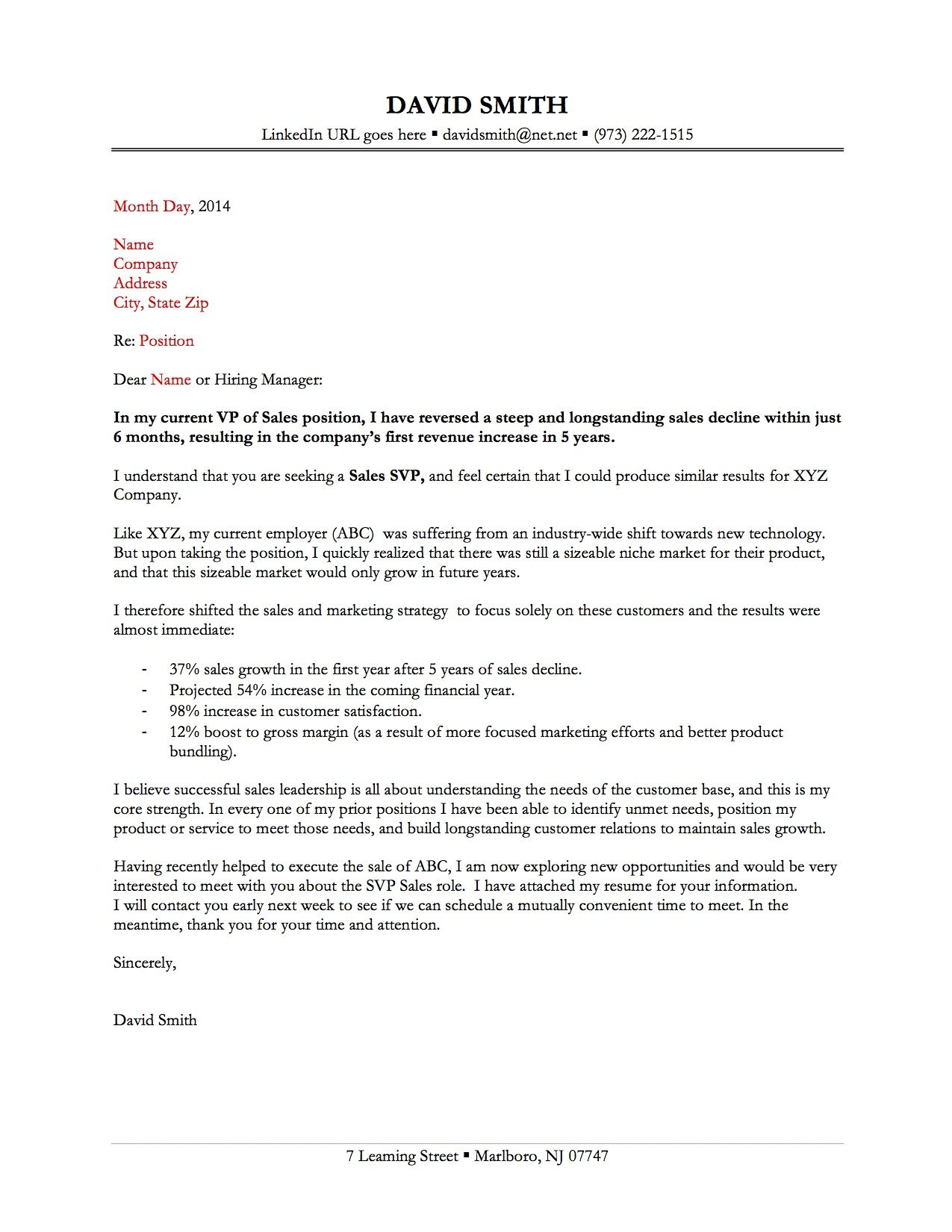A Good Cover Letter For Resume  Cover Letter    Cover