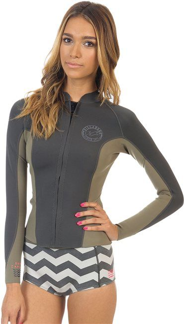 df30c4c400 BILLABONG 2MM PEEKY JACKET > Gear > Wetsuits > Womens Surf Tops ...