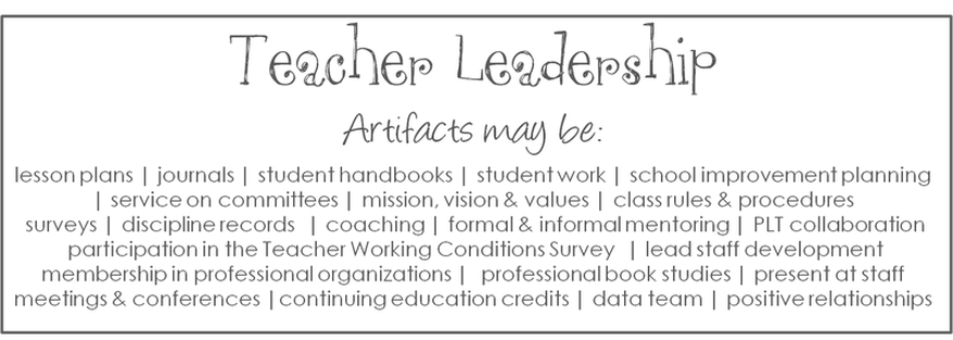 Teacher Evaluation Artifact EPortfolio  Awesomeness I Want