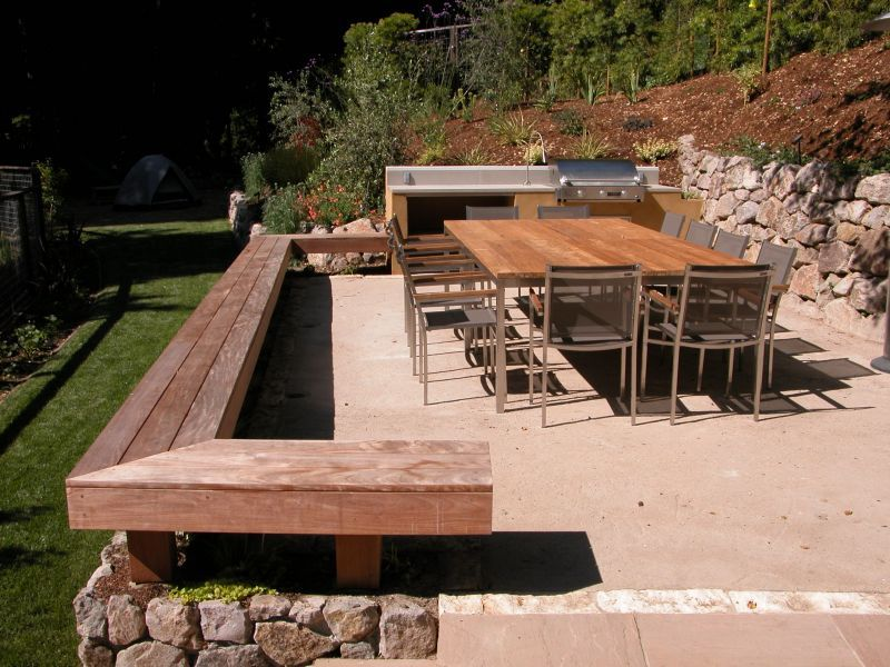 Gorgeous Modern Outdoor Entertaining Area Using Decomposed Granite As Patio  Base. Love This For Our