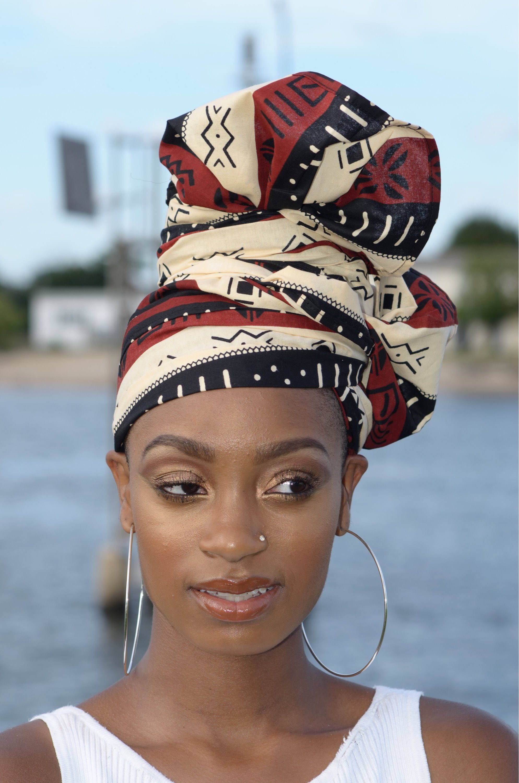foto de Épinglé par Avant Garde de Cultura sur Fashion en 2019 Coiffure avec foulard Foulard africain