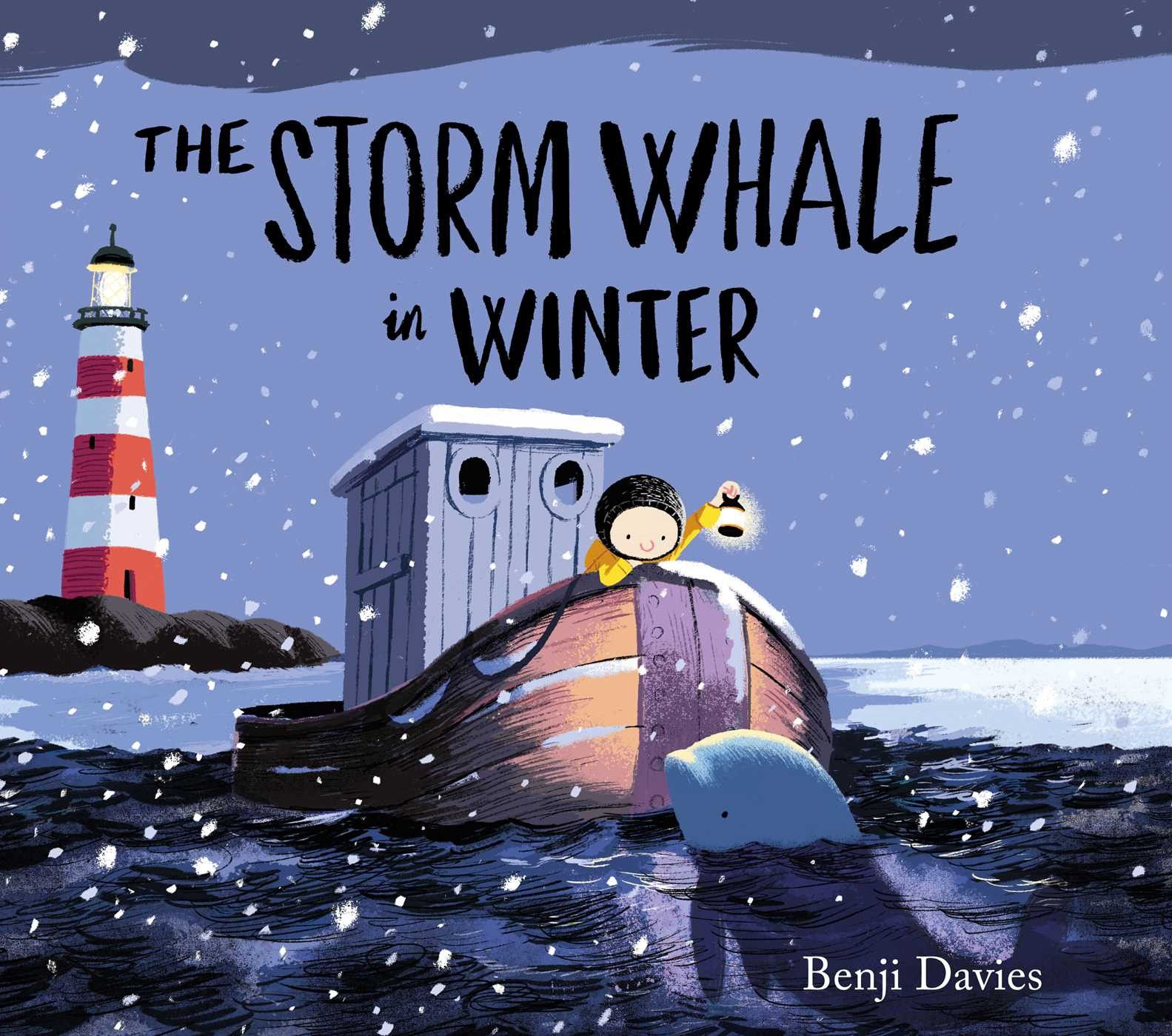 Interview With Children S Book Illustrator Author Benji Davies Winter Books Whale Picture Book