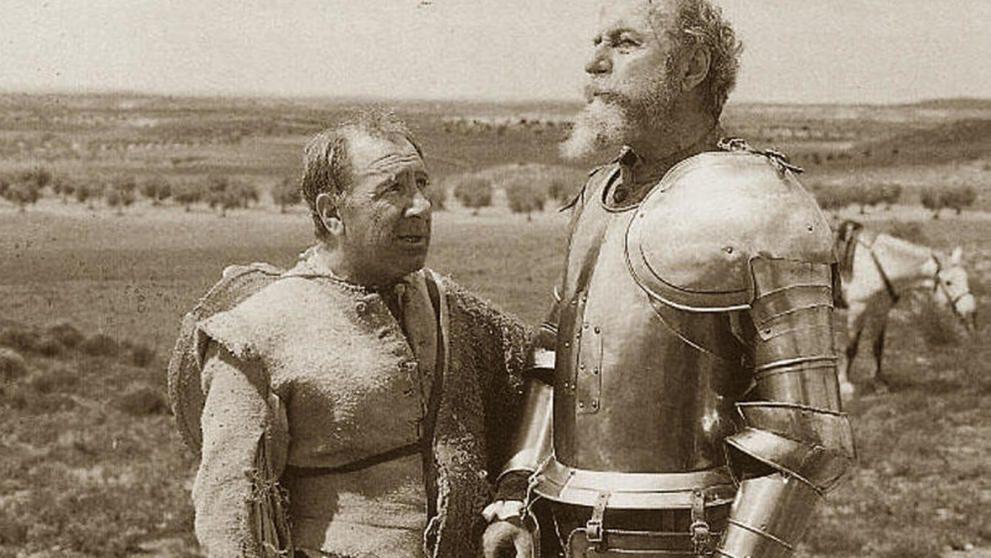 Cervantes, el primer 'yayoflauta'