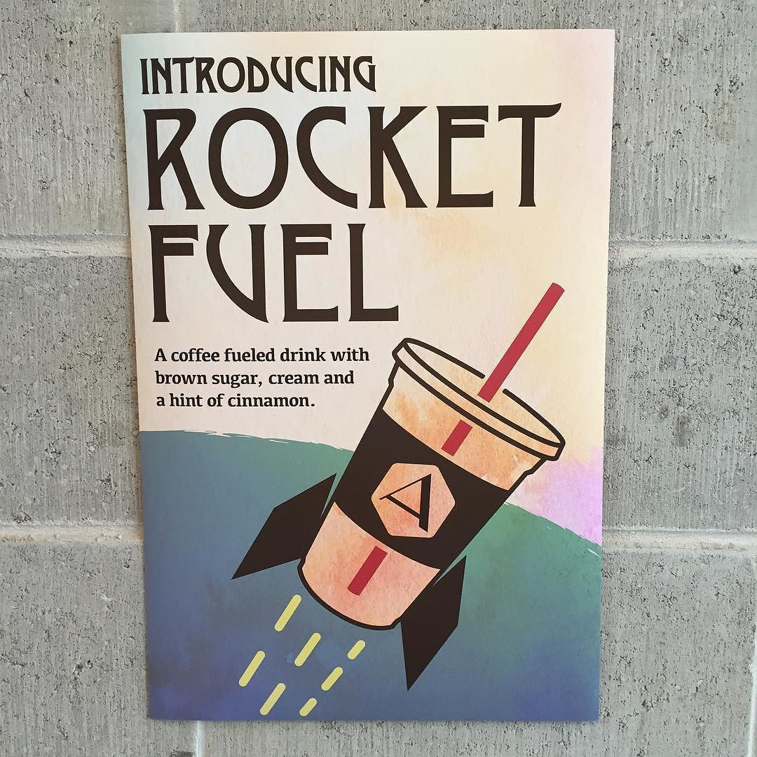 Just in time for summer we are introducing a new iced drink Rocket