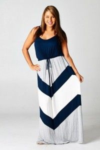 Chevron Maternity Maxi Dress Plus Size