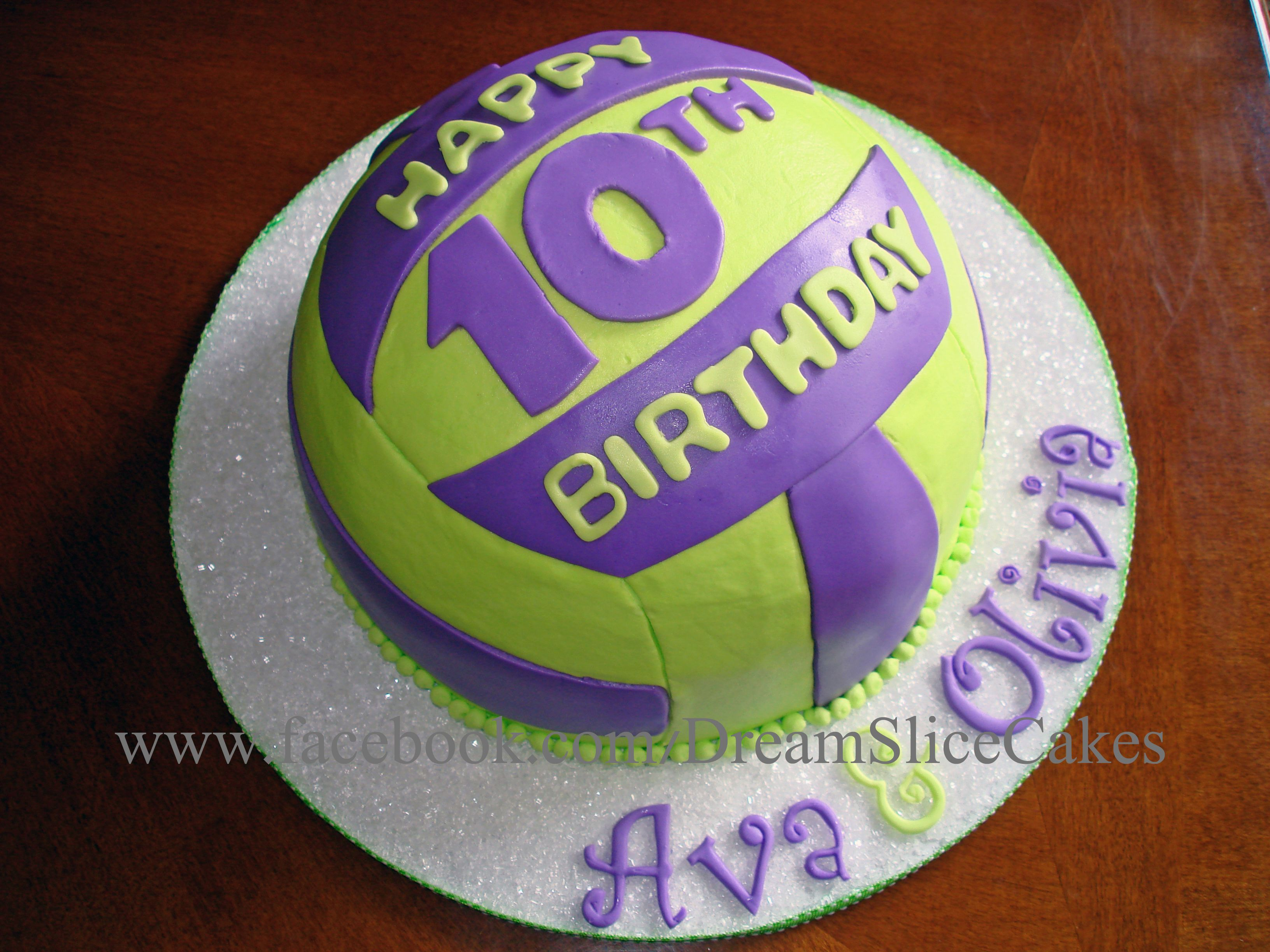 Volley Ball Cake Volleyball Cakes Girl Cakes Birthday Party Cake