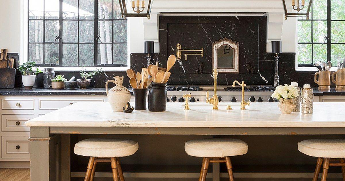 How Nate Berkus Makes an All-White Kitchen Interesting #kitchenhacks