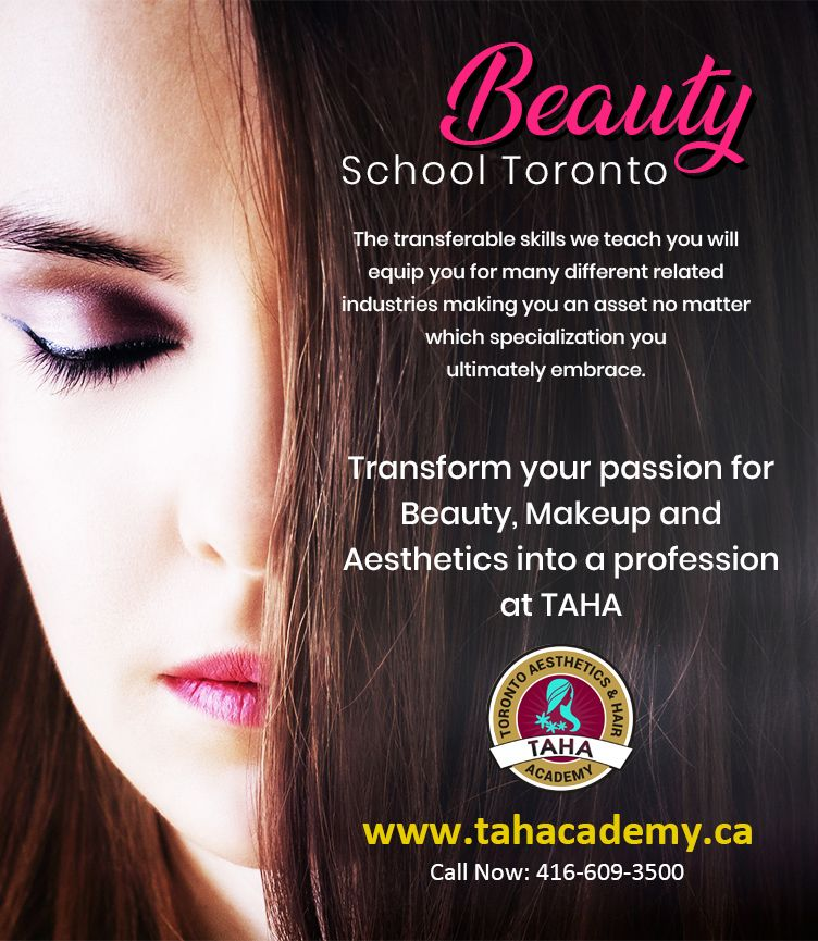 to Toronto Aesthetics & Hair Academy (TAHA