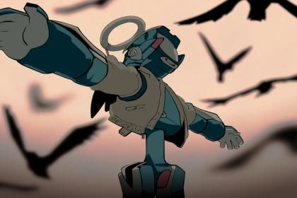 Canti Flcl Fooly Cooly Wallpaper Hd Wallpaper Flcl Anime Movies Anime Characters