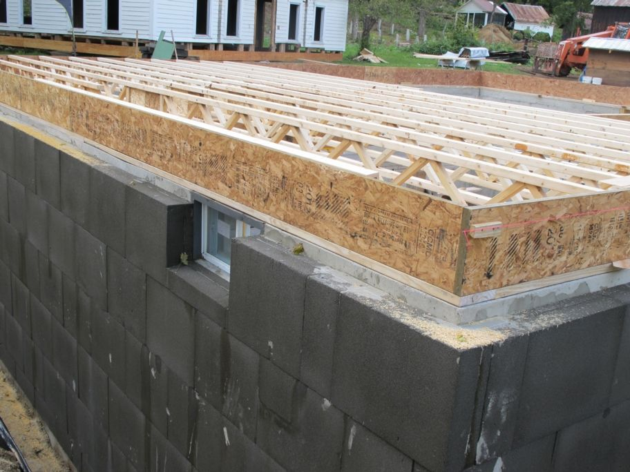 What we learned using foamglas instead of polystyrene to for Basement foundation construction