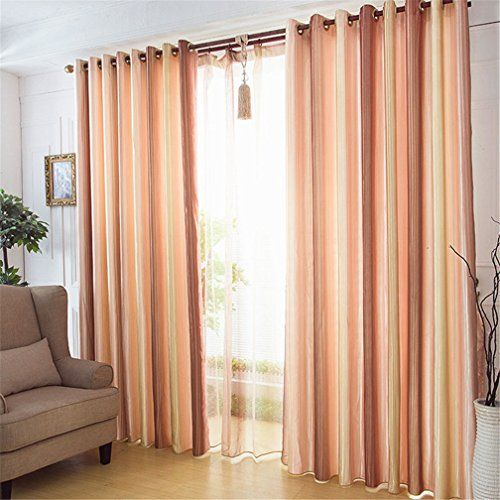 Curtains Ideas blackout drapes and curtains : FFMODE Gradient Stripes Semi-Blackout Drapes Curtains, Gr... http ...