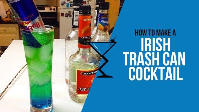 Irish Trash Can | Recipe | Cocktail drinks recipes ...