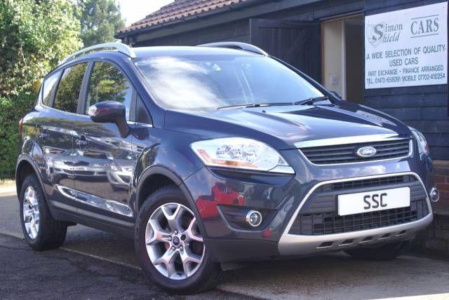 Ford Kuga 2 0 Tdci 140 Zetec 5dr 4wd Estate Diesel Metallic Blue