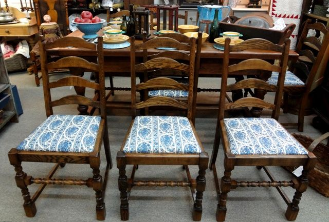 Best Beautiful Set Of Eight English Ladder Back Chairs With 400 x 300