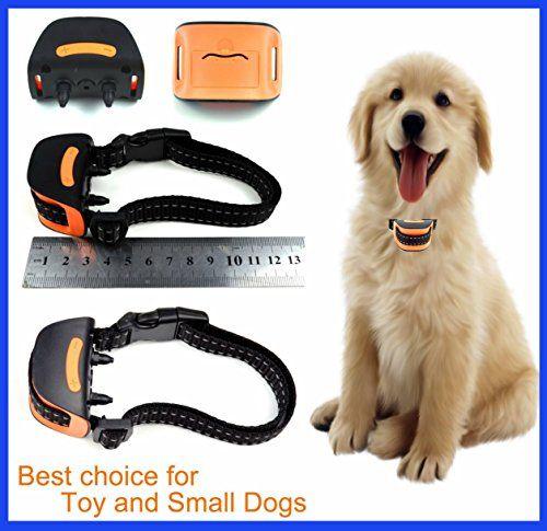 Classic Miniv Vibration No Bark Dog Collar Extra Small Toy Dogs
