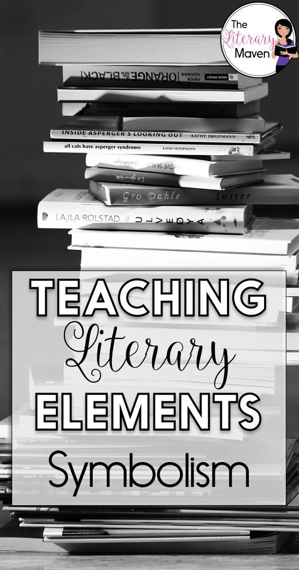 Teaching Literary Elements Symbolism Middle School Reading