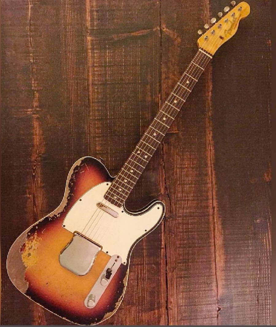 1960 Fender Custom Telecaster!