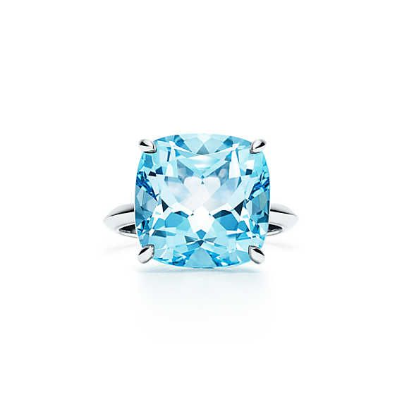 a581dcb66b479 Tiffany Sparklers:Blue Topaz Ring | Gems and Jewelry | Beautiful ...