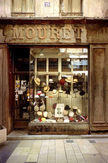 Mouret Avignon Shop Facade Quaint Storefront Store Fronts