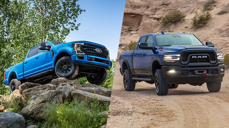 Icymi 2020 Ford Super Duty Tremor Vs 2020 Ram 2500 Power Wagon How They Compare On Paper In 2020 Ford F Series Power Wagon Ford Super Duty