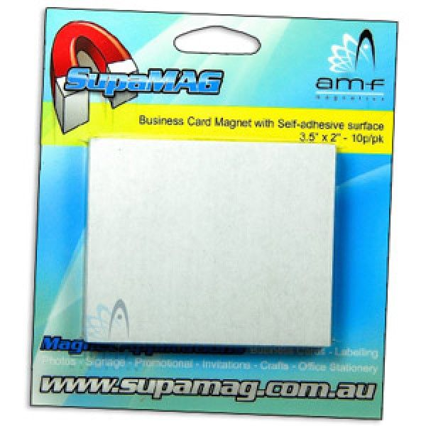Business card magnets 72mm x 64mm 10 pack peel off adhesive business card magnets 72mm x 64mm 10 pack peel off adhesive backing and attach colourmoves