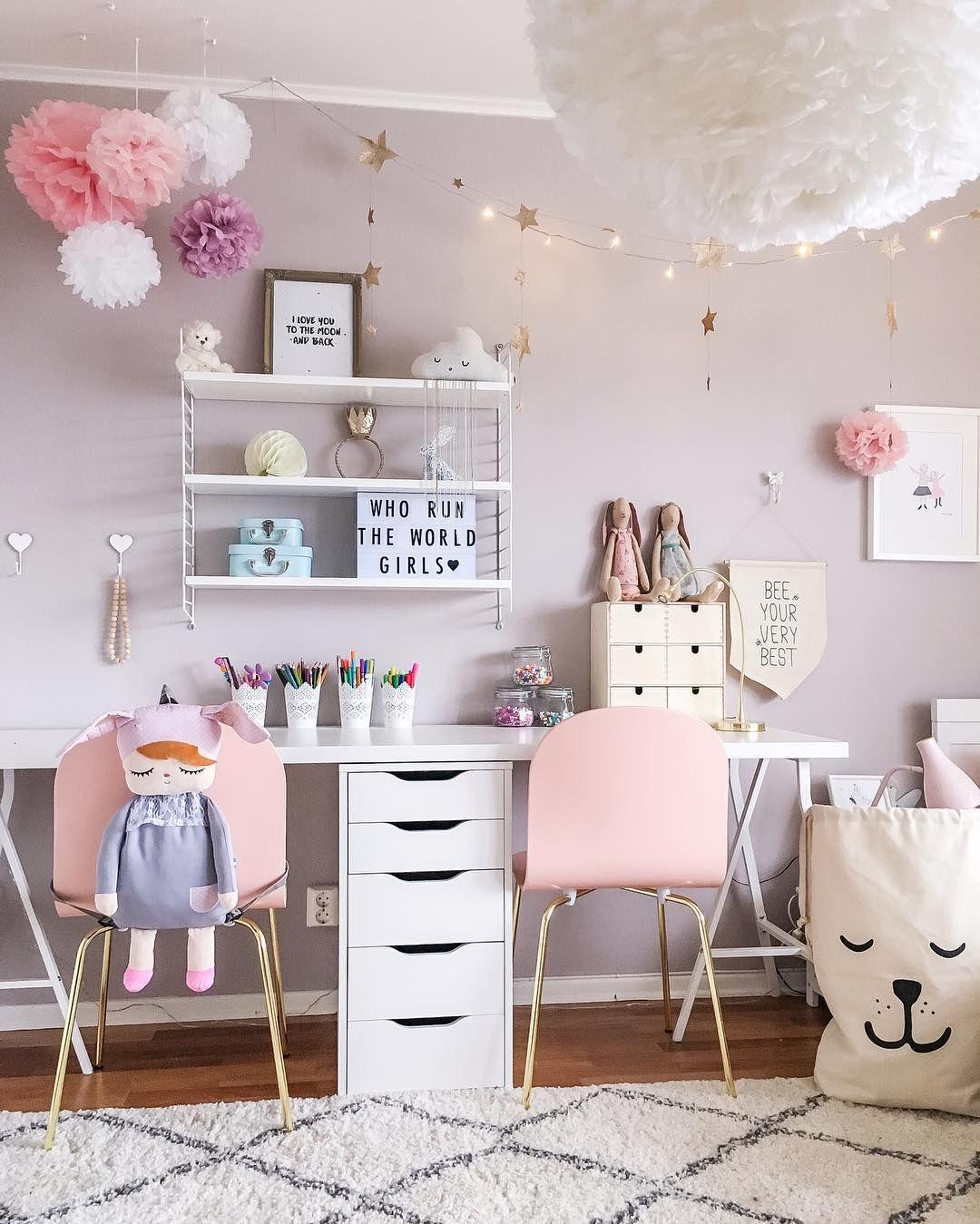 Little Girl Bedroom Art: Lyndon Room In 2019