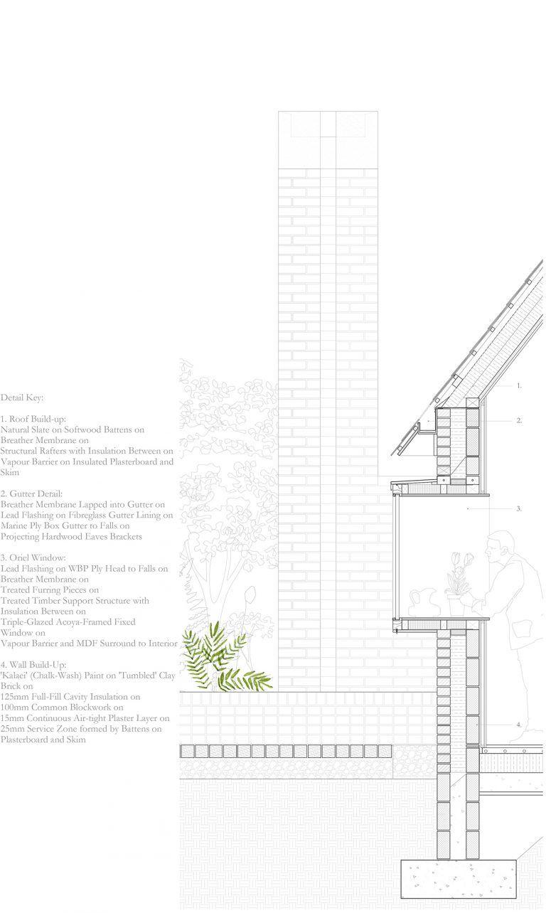 Belgrave Mews Taka Architects Dublin Architecture Details Construction Details Architecture Architectural Section