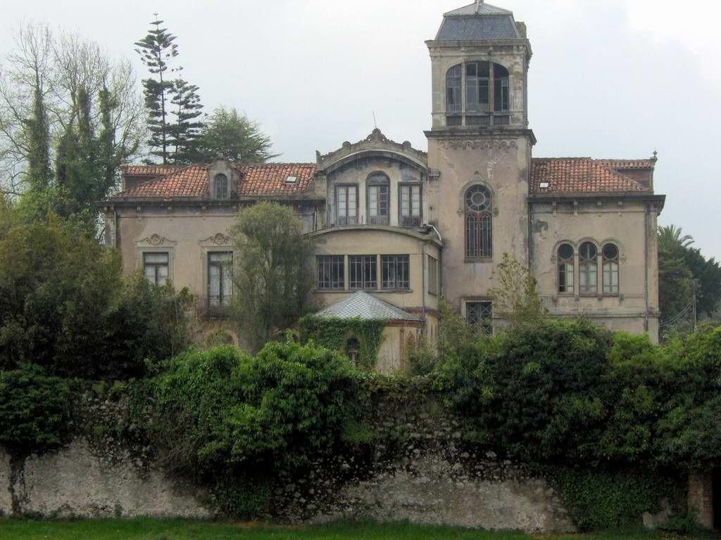 Villa la concepcion llanes casas de indianos asturias pinterest conchas rosas y casas - Casa de asturias madrid ...