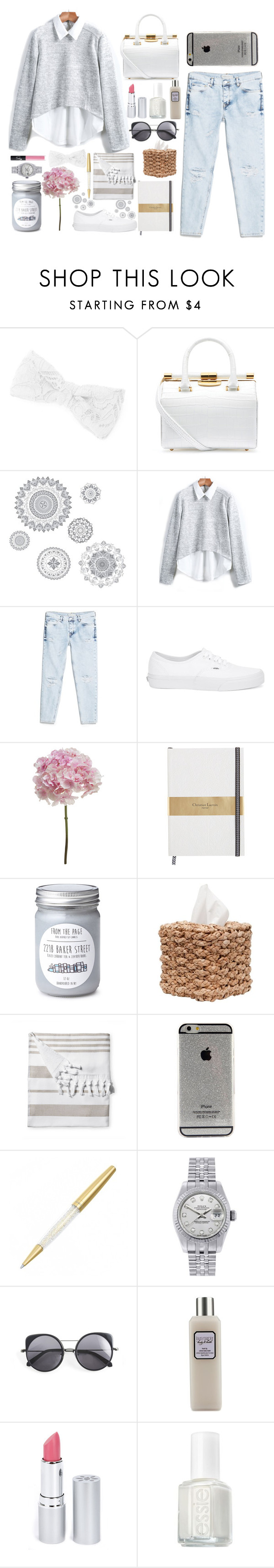 """""""Sin título #30"""" by julianaorozcoa ❤ liked on Polyvore featuring beauty, claire's, Tyler Alexandra, WallPops, MANGO, Vans, DESTIN, Serena & Lily, Rolex and Wood Wood"""