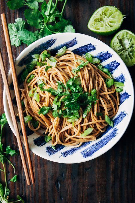 Spicy Vegan Pad Thai