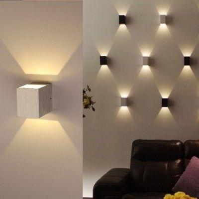 Los Mejores Apliques De Luz Para Decoracion De Habitaciones Apliques De Luz Iluminacion De Pared Paredes Iluminadas