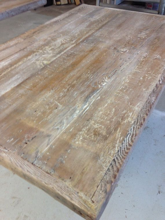Custom Made Reclaimed Wood TABLE TOPS For Home Or Restaurant Use - Custom made wood table tops