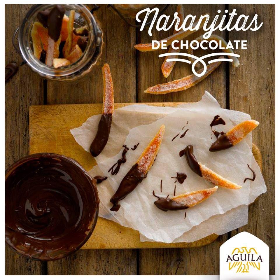 Naranjitas de #chocolate