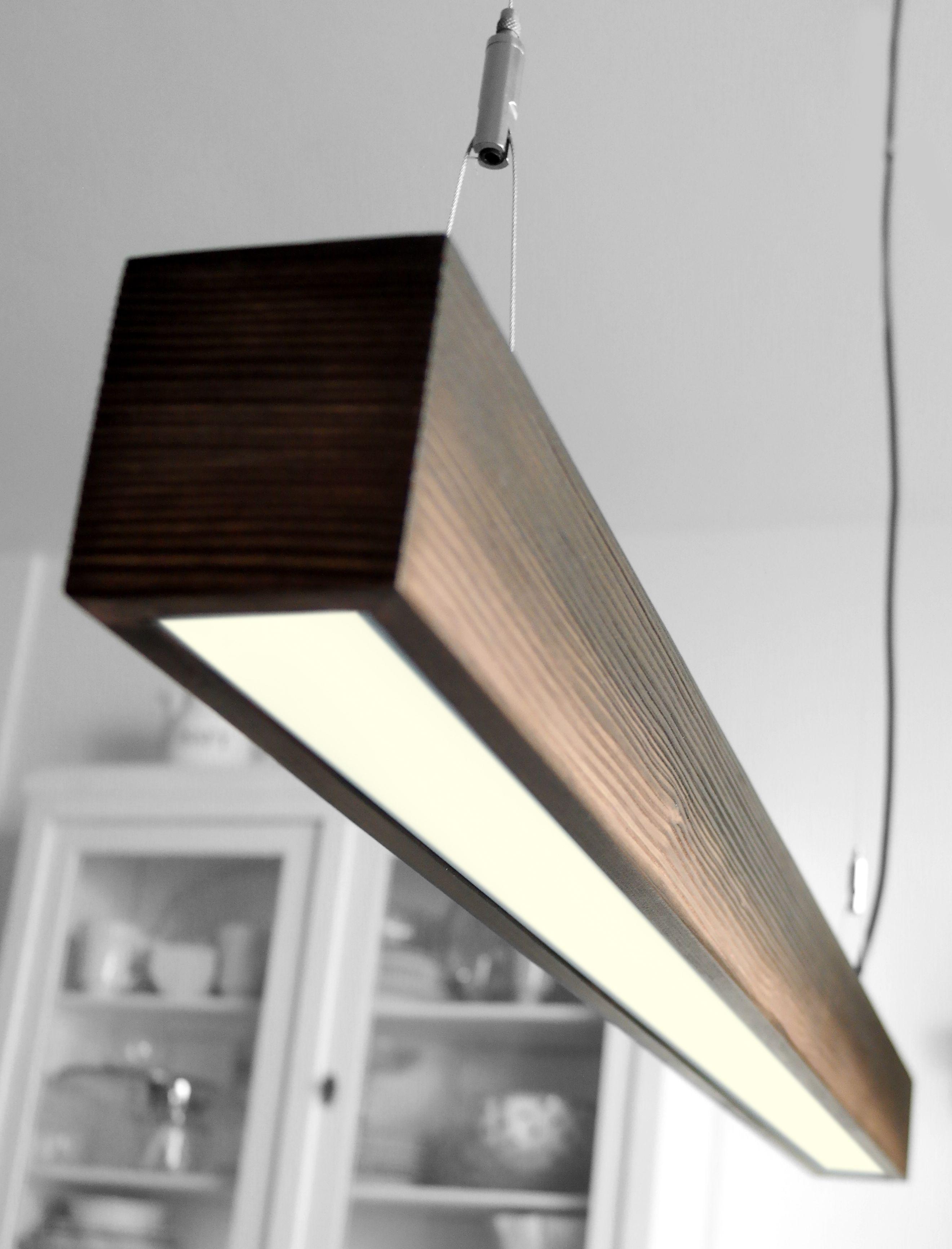 pendelleuchte aus massivem holz design the rough led pendant light made of. Black Bedroom Furniture Sets. Home Design Ideas