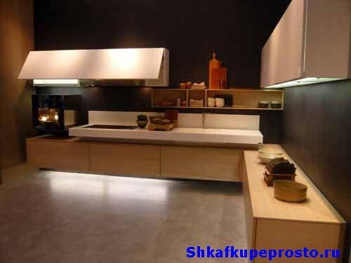 Кухня парит в воздухе фото.