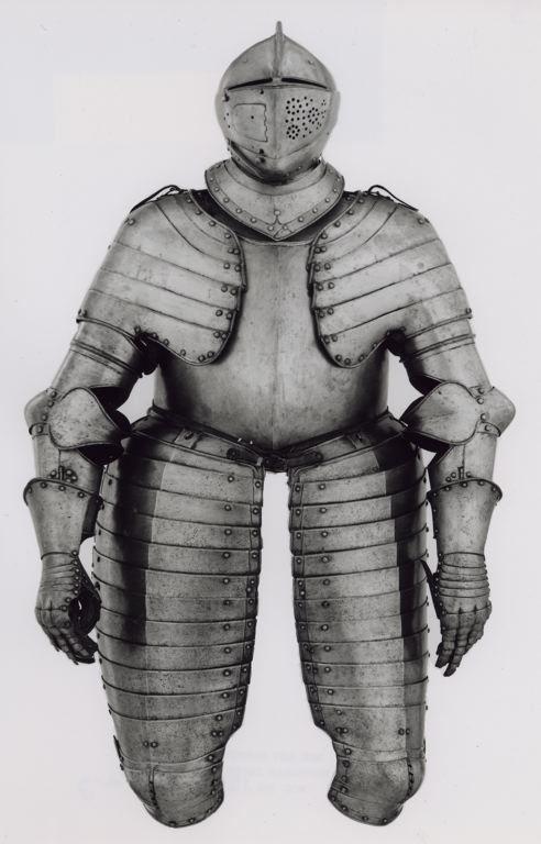 German, Augsburg    Suit of Composite Armor, c. 1570/80    Steel, brass  - Art Institute of Chicago
