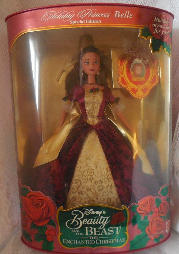 Belle Christmas Barbie Doll Beauty And The Beast Barbie