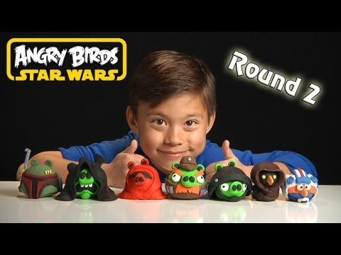 New Angry Birds Star Wars Clay Models Round 2 Stop Motion