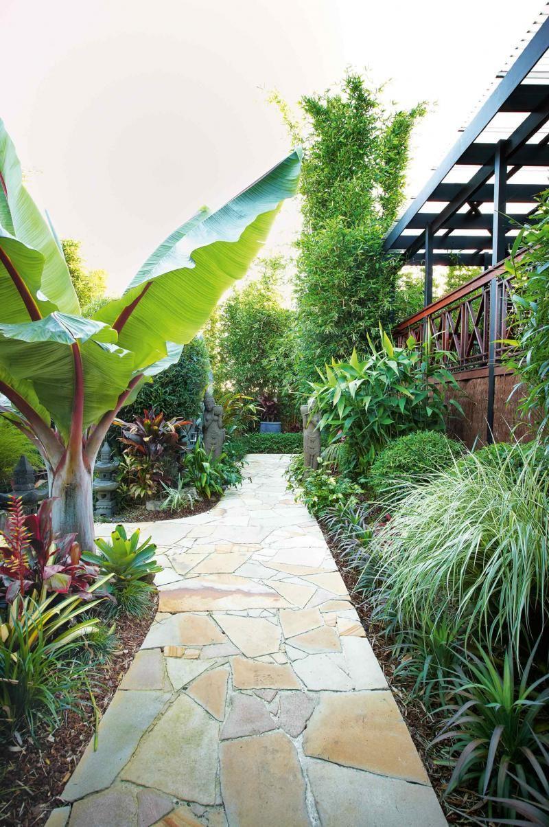 Bali-garden-paved-path-R | Gardens and outdoors | Pinterest | Bali ...