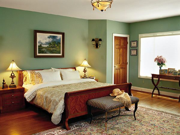 Bedrooms Southern Living Room Gallery Myhomeideas Com Green Bedroom Walls Bedroom Green Pale Green Bedrooms