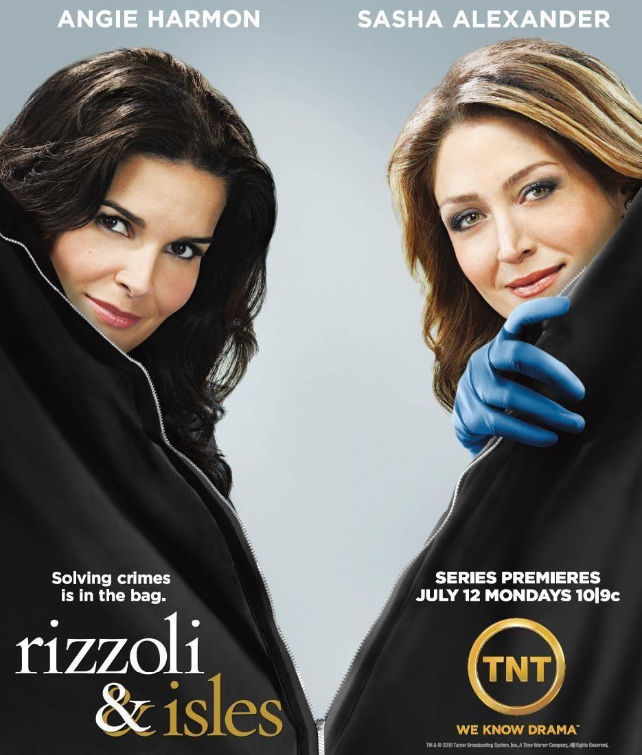 Rizzoli Isles Photo Rizzoli Isles Poster Angie Harmon Tv Premiere Rizzoli