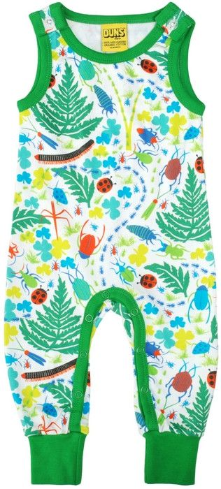 20fb4126 DUNS Sweden Organic Cotton Kids Clothes. Scandi Kids style. Offered at Modern  Rascals. Love these bugs dungarees