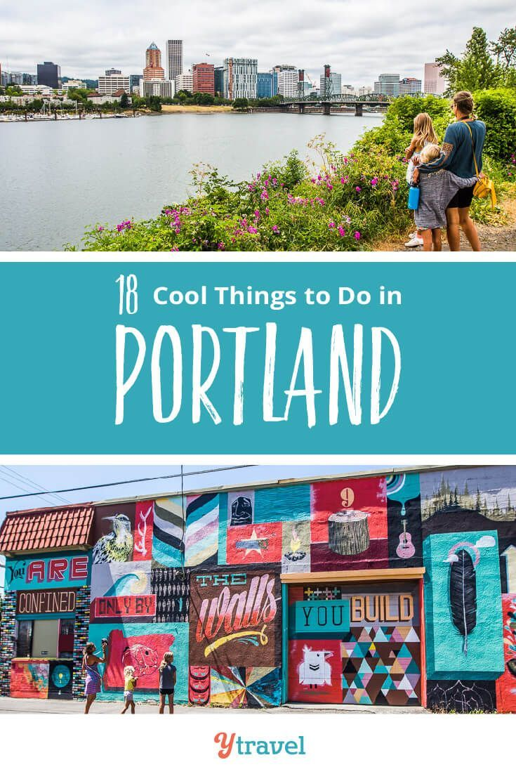Portland, Oregon Travel Tips. We have the list of the coolest things to do downtown, exploring local neighborhoods, biking along the Wilamette River, beautiful parks and gardens to explore, amazing local food and great restaurants including our favorite donut shop, breweries, map of area attractions, hotels and rentals, and what you need to know about travel in and around the city with kids. #Portland #Oregon #vacation