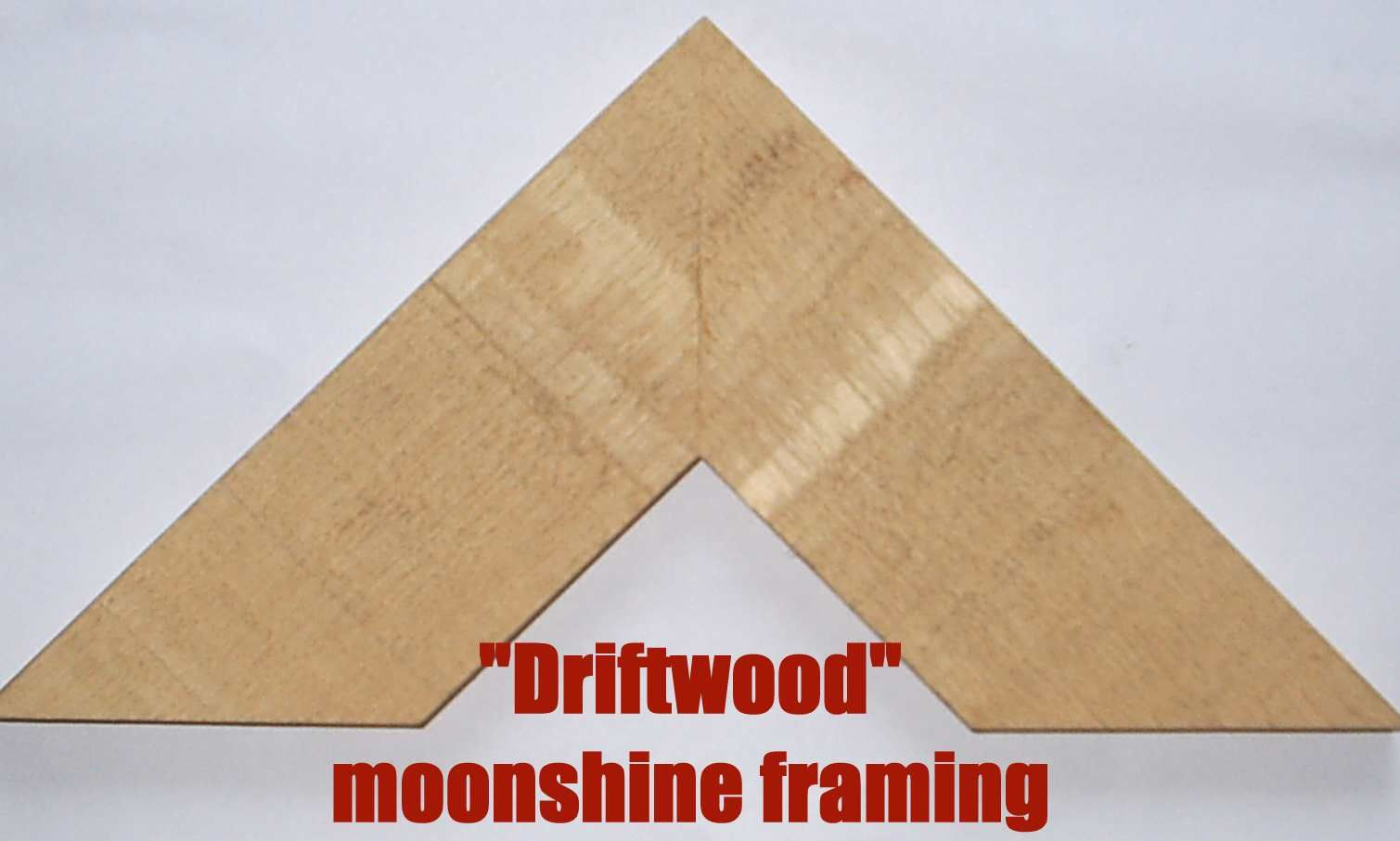 Moonshine S Driftwood A Plain Obeche Frame Moulding To Make Picture Frames Any Size Making Picture Frames Hanging Picture Frames Picture Frames