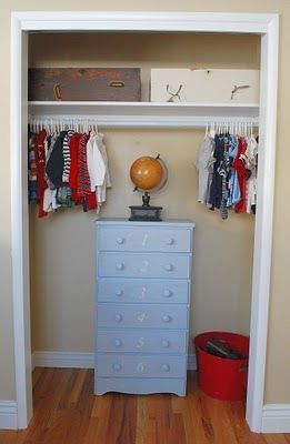 The Complete Guide to Imperfect Homemaking: {OrganizedHome} Day 13: Kid's Closet Inspiration